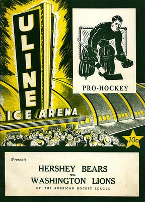 program for the Washington Lions hockey team